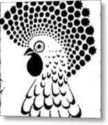 Chicken Tattoo  Metal Print
