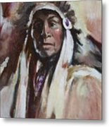Chief 1 Metal Print
