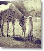 Chief And Grace Metal Print