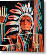 Chief Brill Yount Metal Print