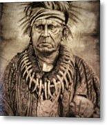 Chief Keokuk  Metal Print