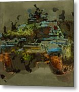 Chieftain Tank Abstract Metal Print