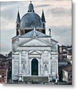 Chiesa Del Redentore Venice Metal Print