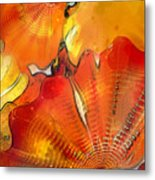 Chihuly Altered Metal Print