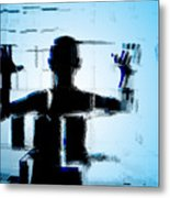 Child In A Fractured World Metal Print