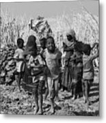 Childern Of The Danakil, Ethiopia Metal Print