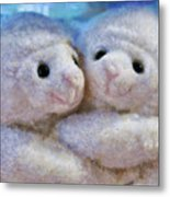 Children - Toys - I Love Ewe Metal Print