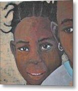 Children Burkina Faso Series Metal Print
