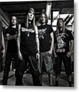 Children Of Bodom Metal Print