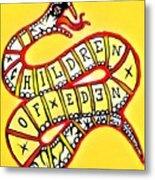 Children Of Eden's Snake Of Temptation Metal Print