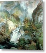 Children Of The Mountain Metal Print