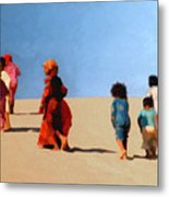 Children Of The Sinai Metal Print