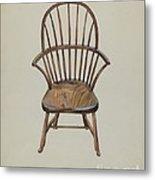 Child's Arm Chair Metal Print
