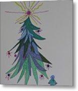 Child's Blue Spruce Metal Print