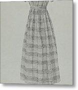 Child's Dress Metal Print