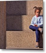 Child's Thought Metal Print