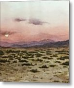 Chile Desert Metal Print
