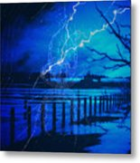 Chill In The Air Metal Print