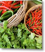 Chillies 08 Metal Print