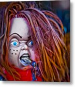 Chillin' With Chuckie Metal Print