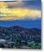 Chimayo Rains Metal Print