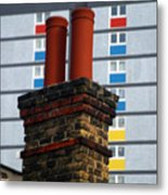 Chimney High Metal Print