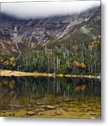 Chimney Pond During Fall - Baxter State Park Maine Metal Print