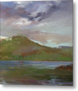 Chimney Rock  At Priest Lake  Plein Air Metal Print