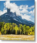 Chimney Rock Autumn Metal Print