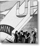 Chin Up Metal Print