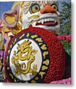 China Airlines Parade Float Metal Print