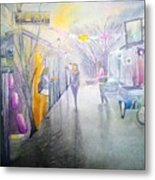China Beijing Street Metal Print