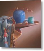 China Blues Metal Print
