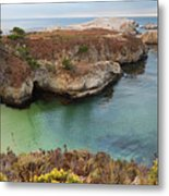 China Cove Metal Print