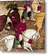 China: Horsemen Metal Print
