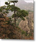 China, Mt. Huangshan Metal Print