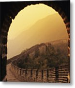 China, Mu Tian Yu Metal Print