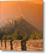 China, The Great Wall Metal Print