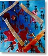 China Touch Metal Print