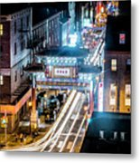 Chinatown Gates Metal Print