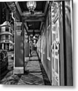 Chinatown In Singapore - Entry To The Saff Hotel Metal Print