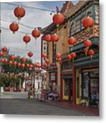 Chinatown Los Angeles 1 Metal Print