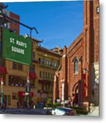 Chinatown View From St. Mary's Square Metal Print