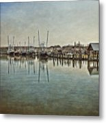 Chincoteague Bay Metal Print