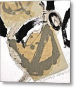 Chine Colle Metal Print