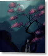 Chinese Ancient Style Metal Print