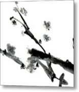 Chinese Brush Lv Metal Print