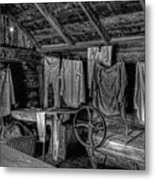 Chinese Laundry In Montana Territory Metal Print by Daniel Hagerman