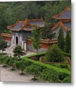 Chinese Palace Metal Print