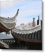 Chinese Rooflines Metal Print
